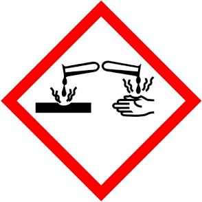 gevaarlijke stoffen- hand en water