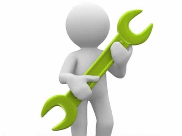 afbeelding monteur groen
